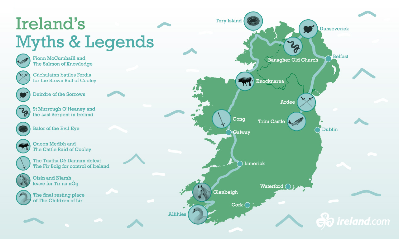 Myths of Ireland a legendary journey Irelandcom