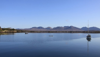 Roundstone Harbour, Connemara, County Galway