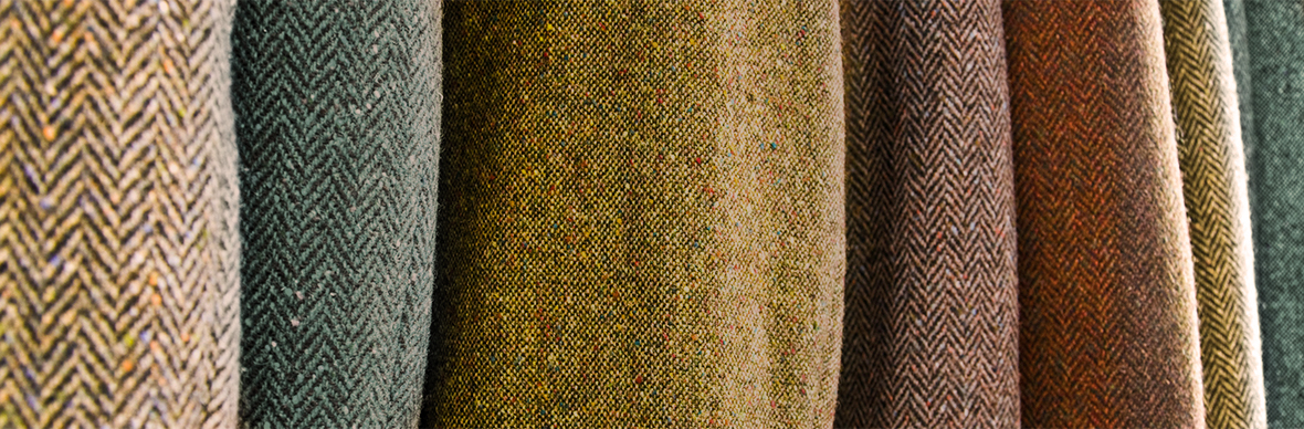 Get a feel for tweed