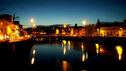The River Lee, Cork City