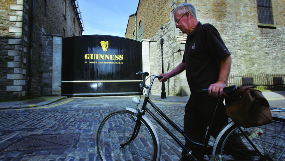 St. James Gate aan de Guinness Storehouse