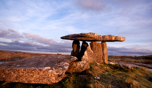 Wedge tomb, The Burren, Couty Clare