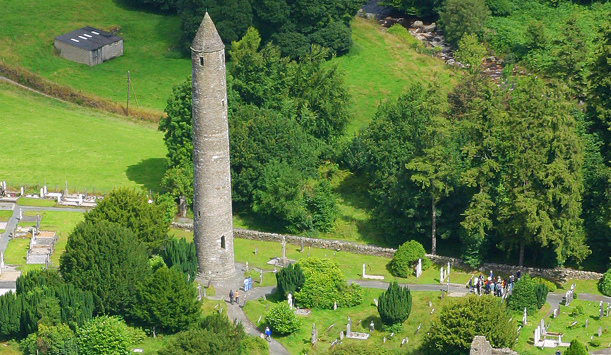 The Valley is home to one of Ireland's most impressive monastic sites founded by St. Kevin in the 6th Century