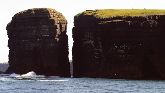 Sea stacks, Donegal