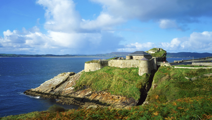 "Fort Dunree provided by <a href=""http://visitinishowen.com/"" >Visit Inishowen</a>"