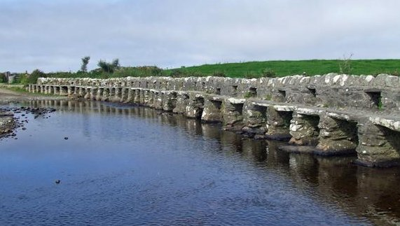 The Clapper Bridge, Louisburgh, County Mayo