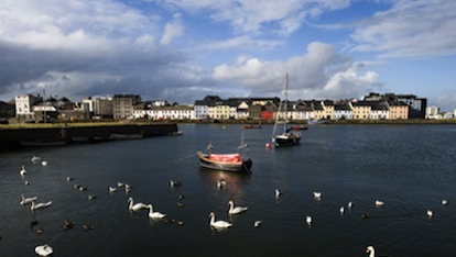 Galway city harbour