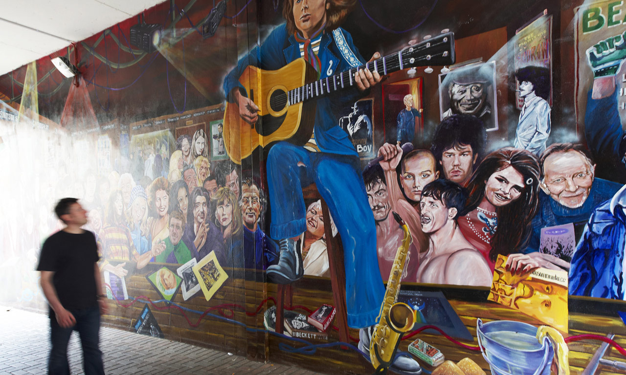 A faire belfast en irlande du nord le top 10 for Mural irlande