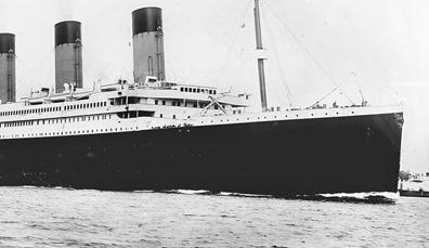 Titanic: gebouwd in Belfast