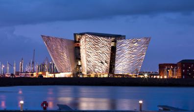 Die Titanic: In Belfast gebaut