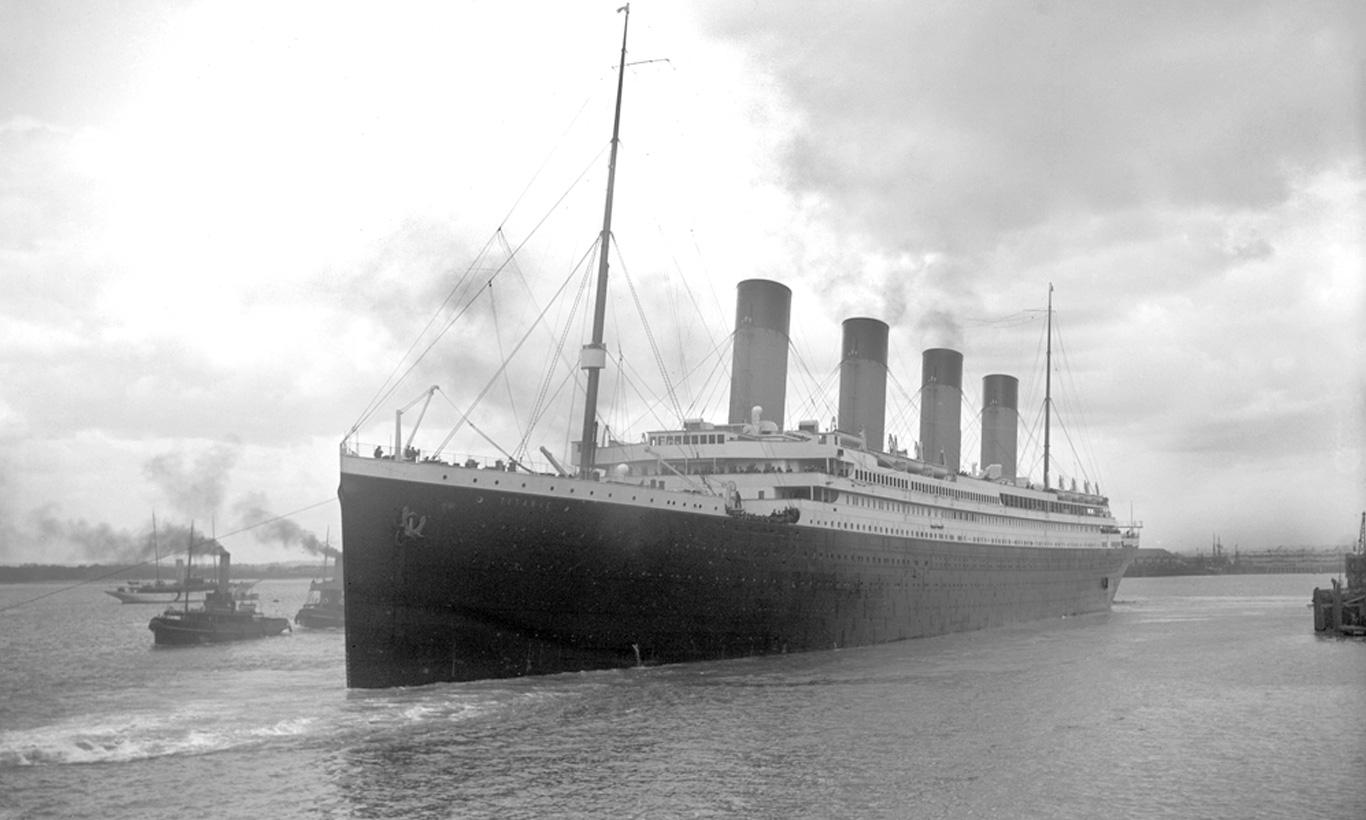 wo wurde titanic gebaut