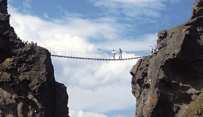 Carrick-a-Rede-Hängebrücke