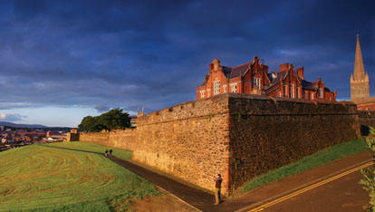 The walls of Derry~Londonderry