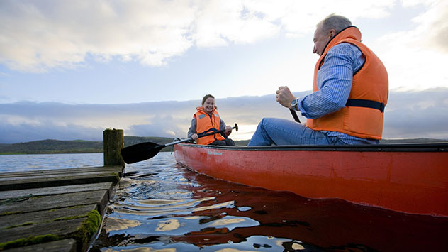 Canoeing in County Fermanagh