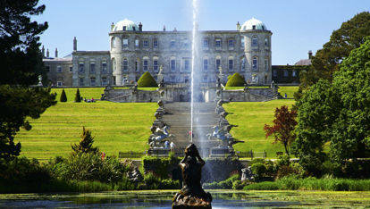 Powerscourt House and Gardens is one of Wicklow's highlights