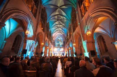 De stad Dublin: festivals