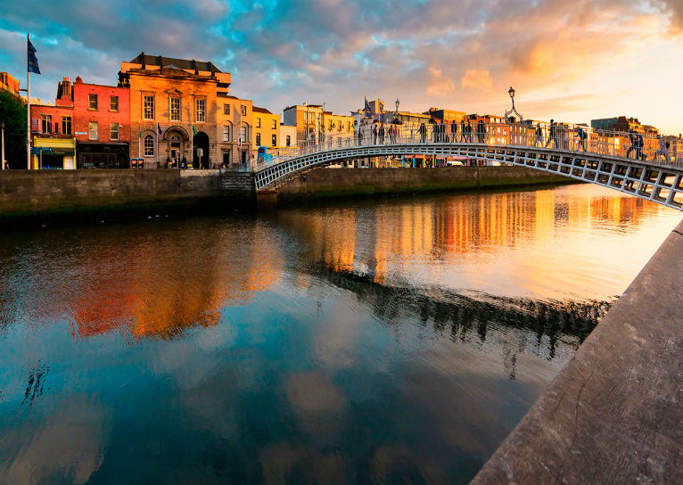 De stad Dublin: top 9-attracties