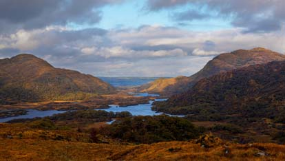 The Killarney Lakes that so impressed Queen Victoria's ladies-in-waiting