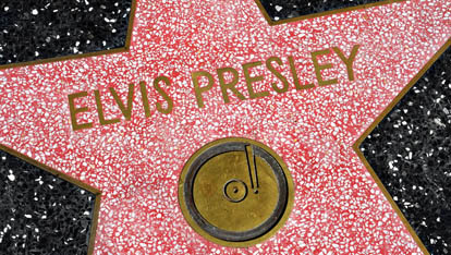 Elvis Presley&#39;s star in L.A provided by &lt;a href=&quot;http://www.sxc.hu/gallery/MDS31781&quot; >Michael Sult&lt;/a> 