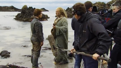 Filming 'Game of Thrones'