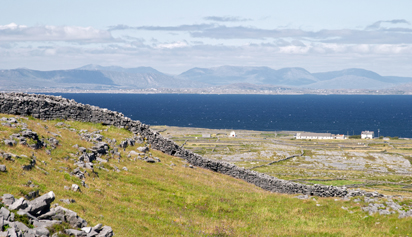 View from Dun Aonghasa, Aran islands, Ireland