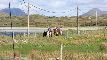 Cleggan Riding Centre, Connemara