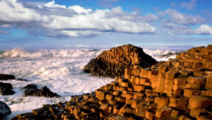 The Giants Causeway  fourni par &lt;a href=&quot;http://scenicireland.com/christopher_hill_photographic/&quot; >Chris Hill&lt;/a>