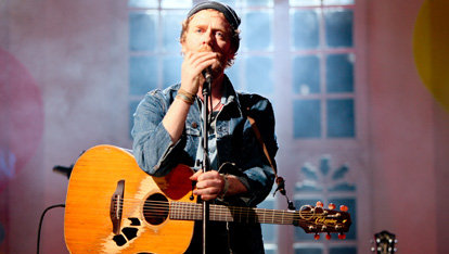 Glen Hansard of The Frames performing at Other Voices