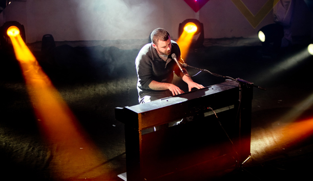 Mick Flannery performing at Other Voices