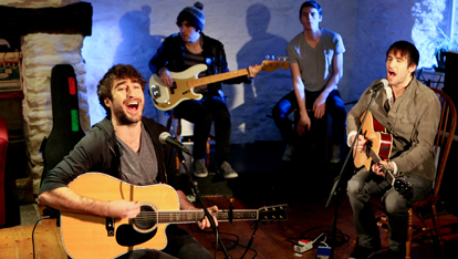 The Coronas performing at Other Voices
