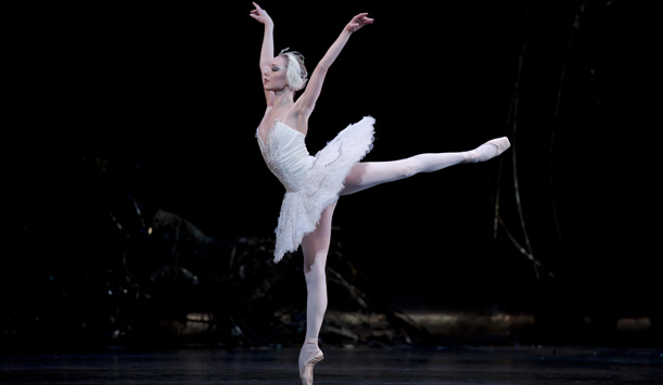 The Royal Ballet performing Swan Lake