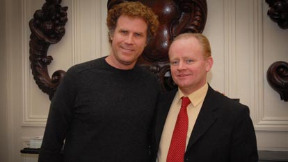 "Actor Will Ferrell  provided by <a href=""http://www.derrycitytours.com/"" >Martin McCrossan</a>"