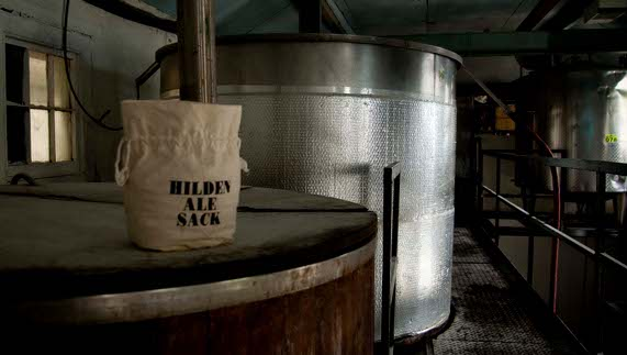 Inside the Hilden Brewery, County Down