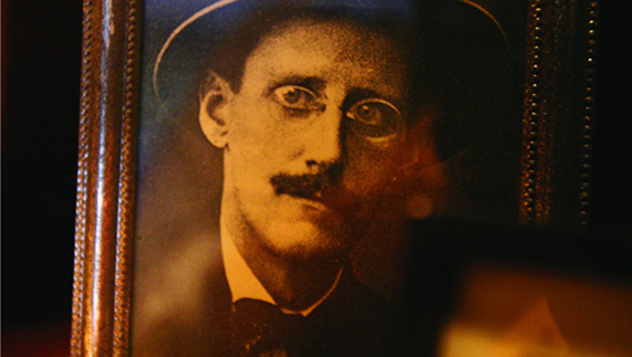A real Dubliner: James Joyce