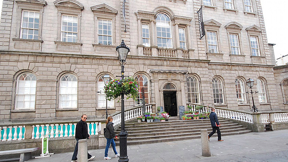 The Powerscourt Centre is home to many boutiques and Irish designers
