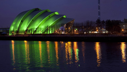 Glasgow's Green Armadillo
