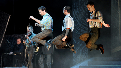 Another energetic show provided by &lt;a href=&quot;http://media.riverdance.com/world-login/photo-gallery/&quot; >Riverdance&lt;/a> 