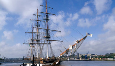 El barco de la Hambruna de Dunbrody, Condado de Wexford