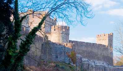 Cahir Castle, Co. Tipperary - picture from Tourism Ireland, ireland.com