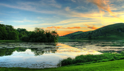 Lough Gur, Co. Limerick - picture from Tourism Ireland, ireland.com