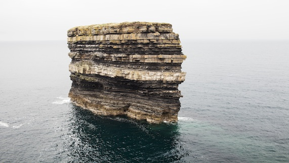 Dún Briste sea stack at Downpatrick Head