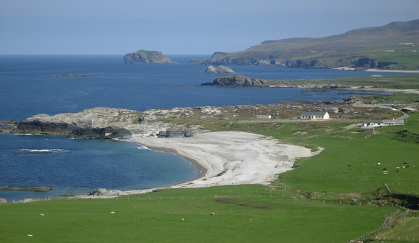 Beach at Malin Head, County Donegal