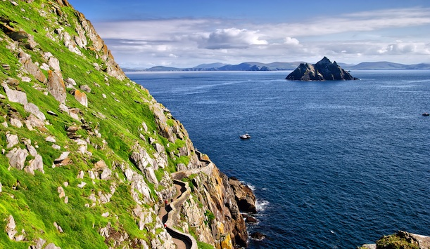 Small skellig, Co. Kerry, Ireland