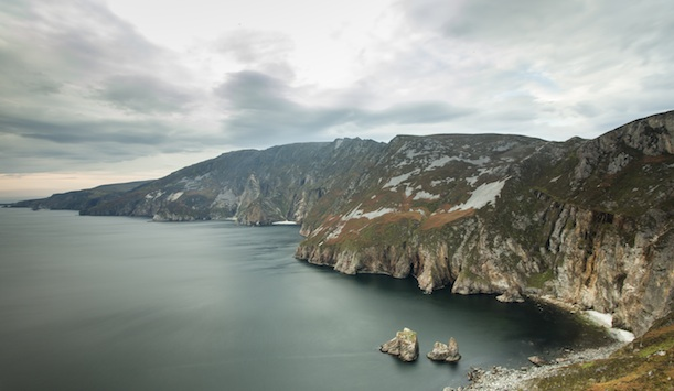 Impressive Slieve League cliffs, Co Donegal