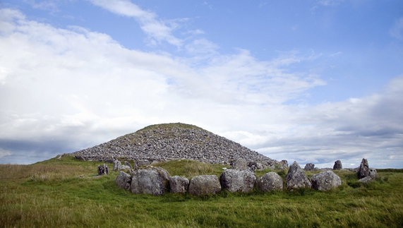 The ancient Loughcrew Cairns, County Meath