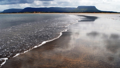 Streedagh Strand (playa del naufragio de Francisco de Cuéllar y su barco La Lavia)