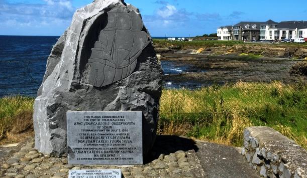 Hito conmemorativo Spanish Point, Condado de Clare