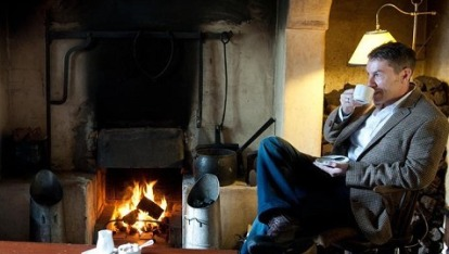 Fireside at the Bushmills Inn