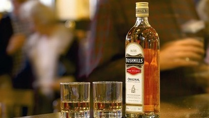 A bottle of Bushmills' finest
