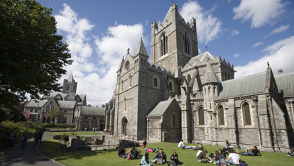 Christchurch Cathedral in Dublin City